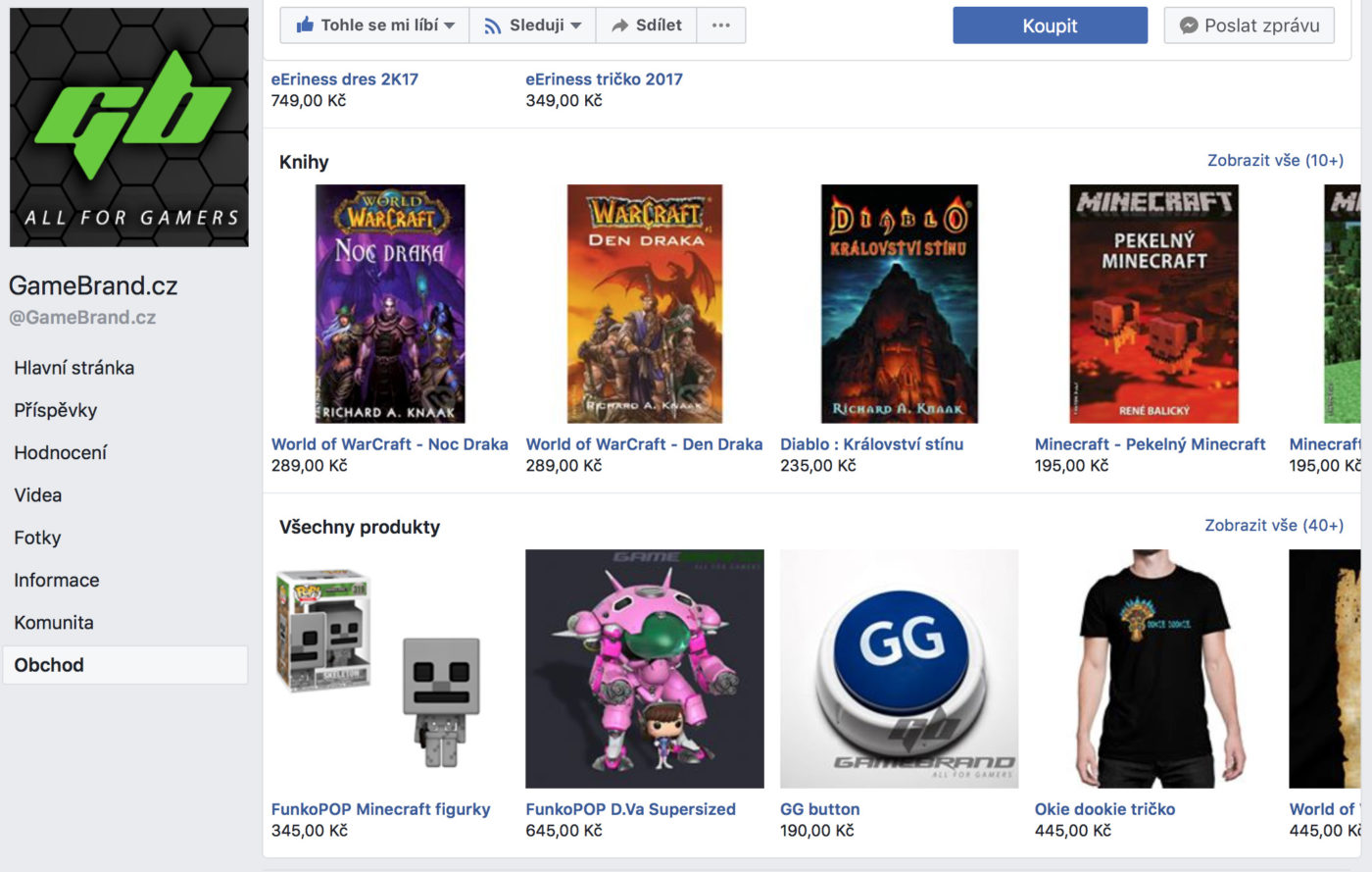 gamebrand facebook marketplace