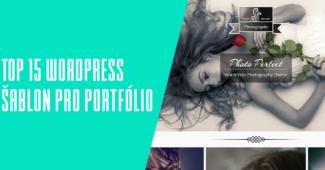 top wordpress portfolio šablony