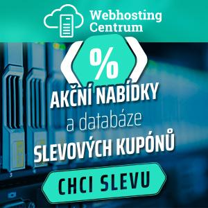 Webhosting slevové kupóny