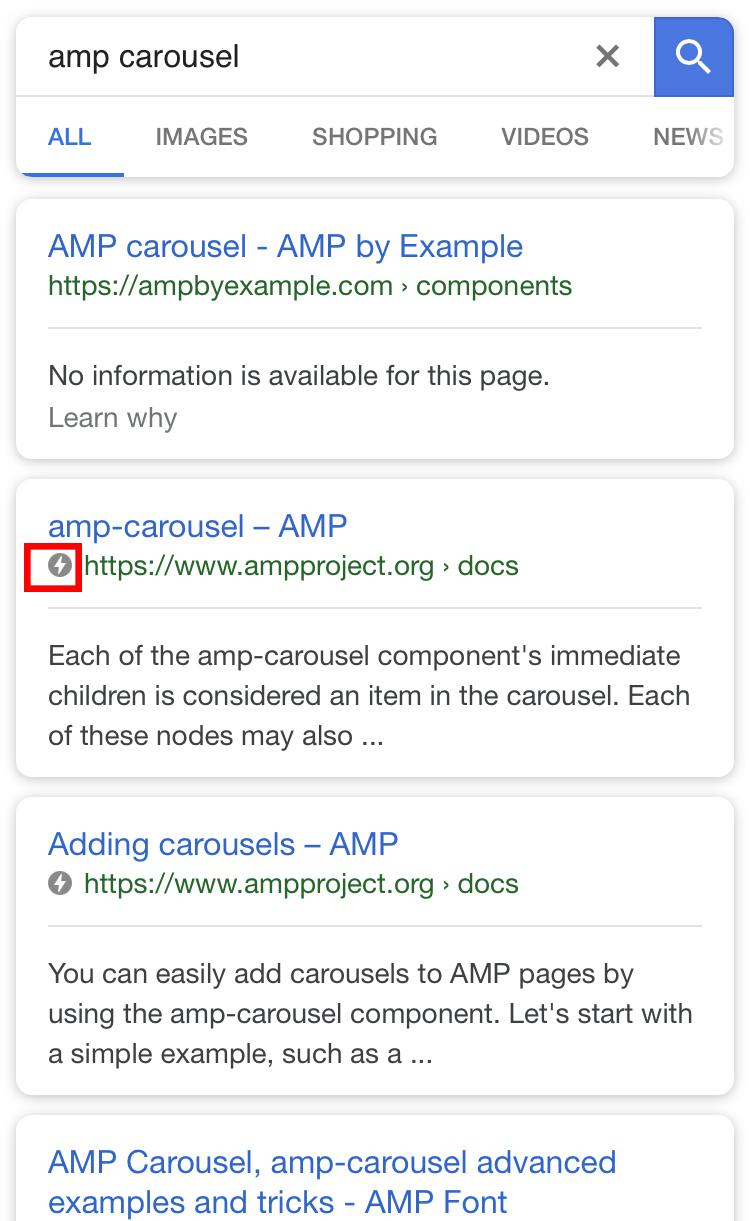 Google AMP podpora