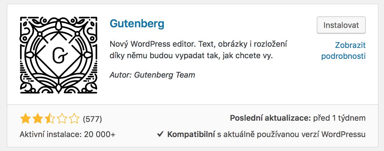 WordPress Gutenberg Plugin
