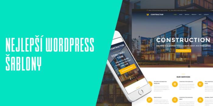 Nejlepší WordPress šablony