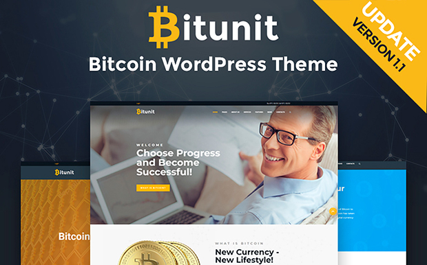 WordPress šablona Bitunit