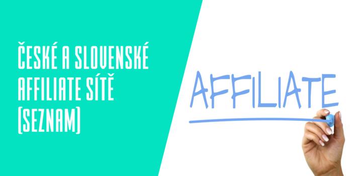 České a slovenské affiliate sítě (Seznam)
