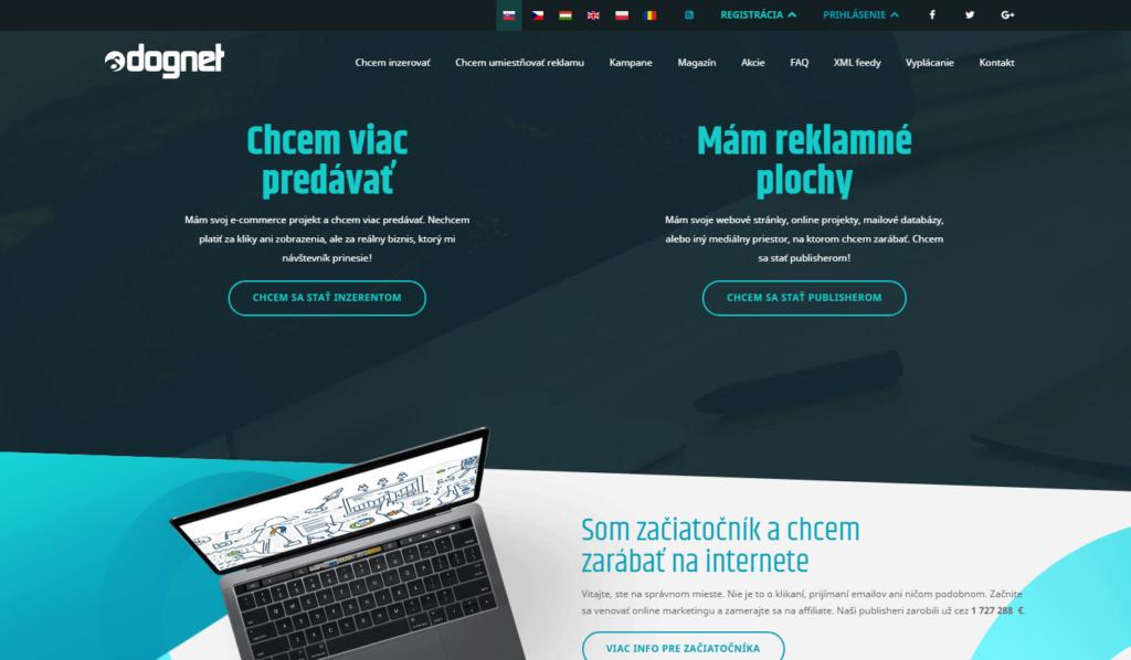 Affiliate síť Dognet.sk