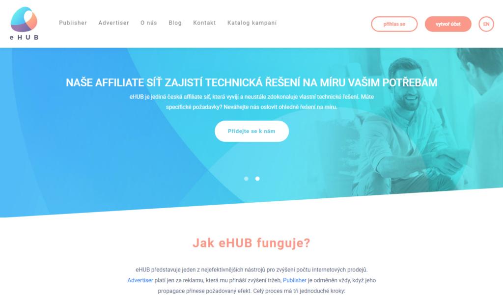 Affiliate síť eHub.cz