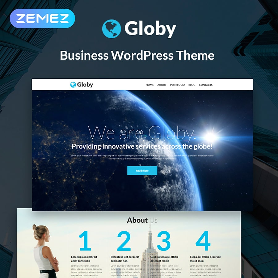 WordPress šablona Your Business