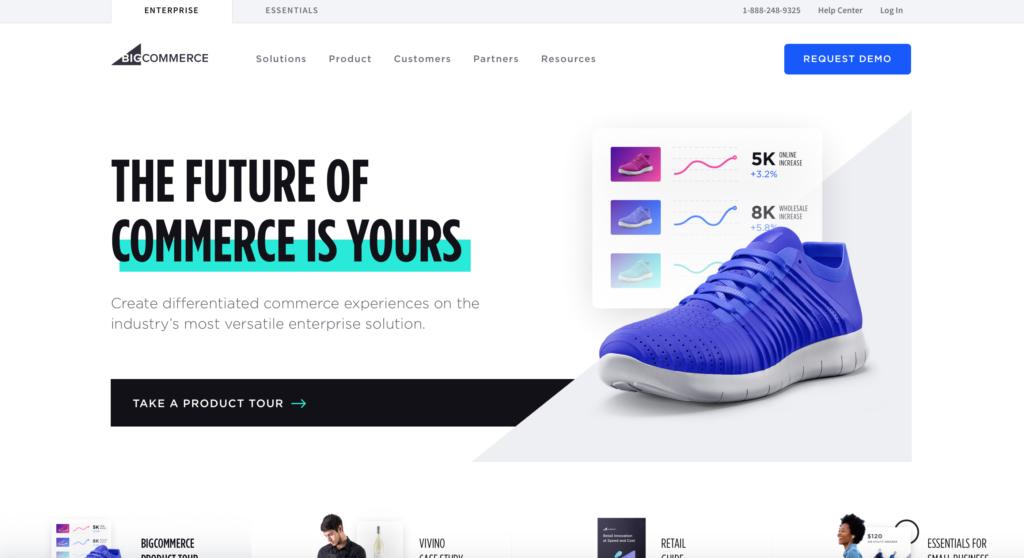 BigCommerce.com WYSIWYG editor webových stránek