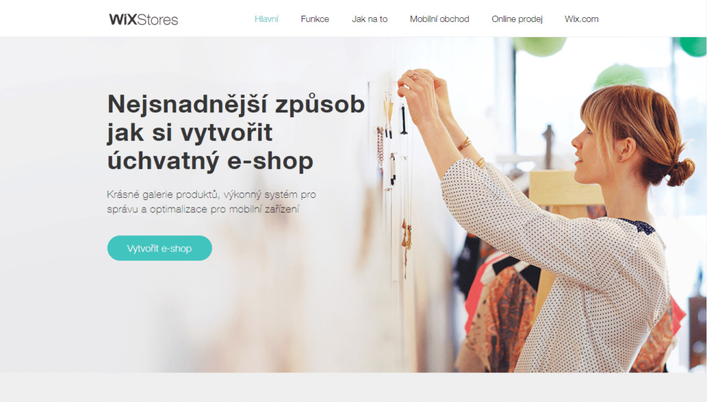 E-shopová platforma wix-com