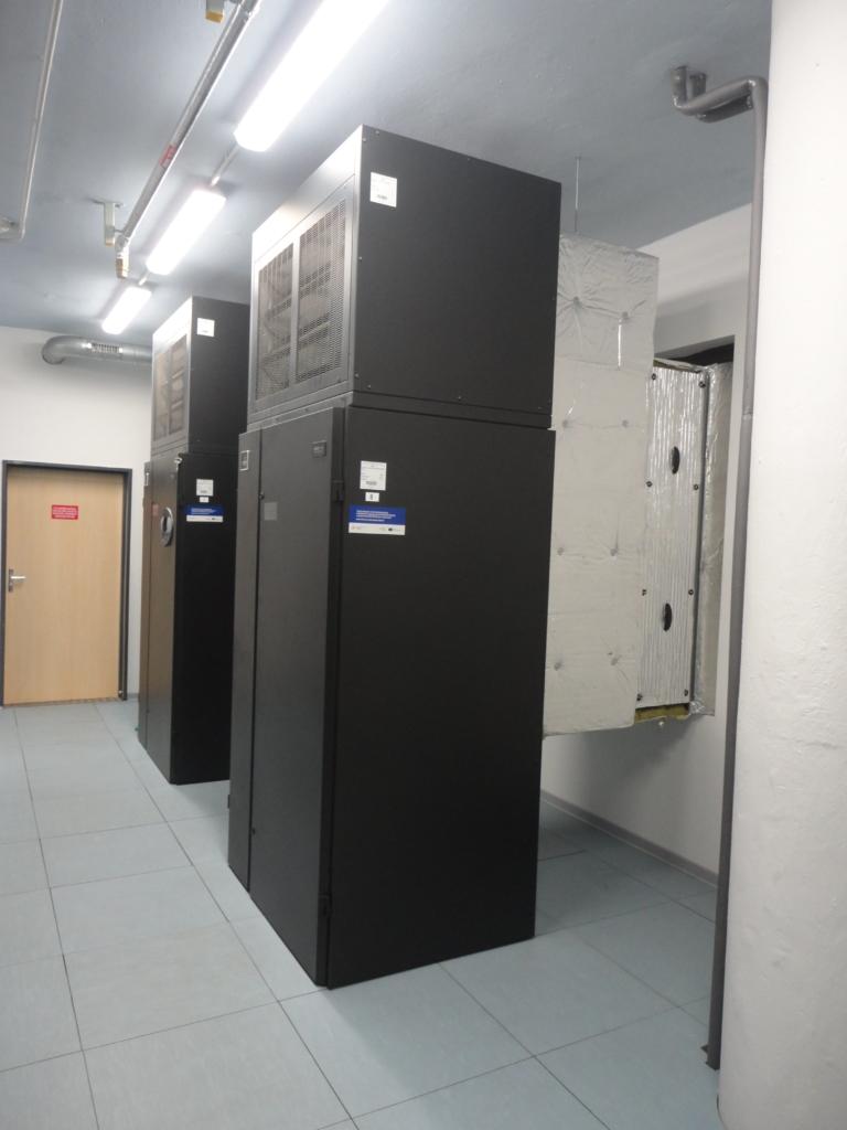Free coolingové jednotky datacentra MasterDC v Brně