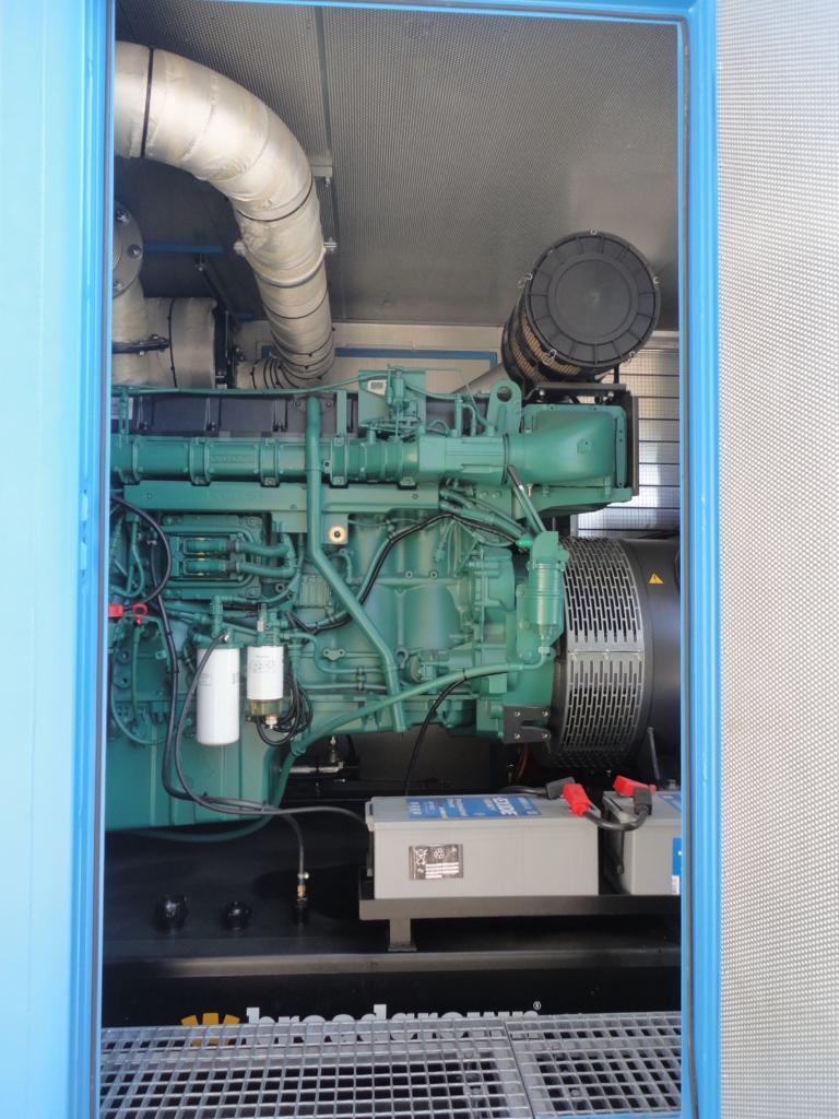 Motorová část dieselgenerátoru datacentra MasterDC v Brně