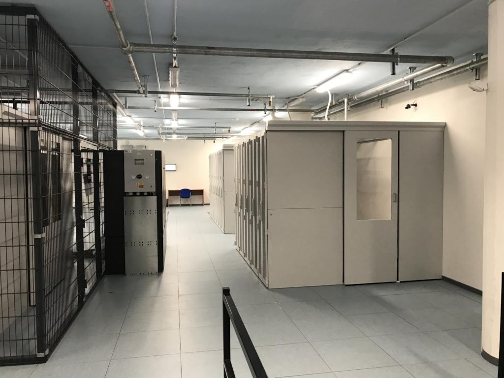 Pohled do serverovny datacentra MasterDC