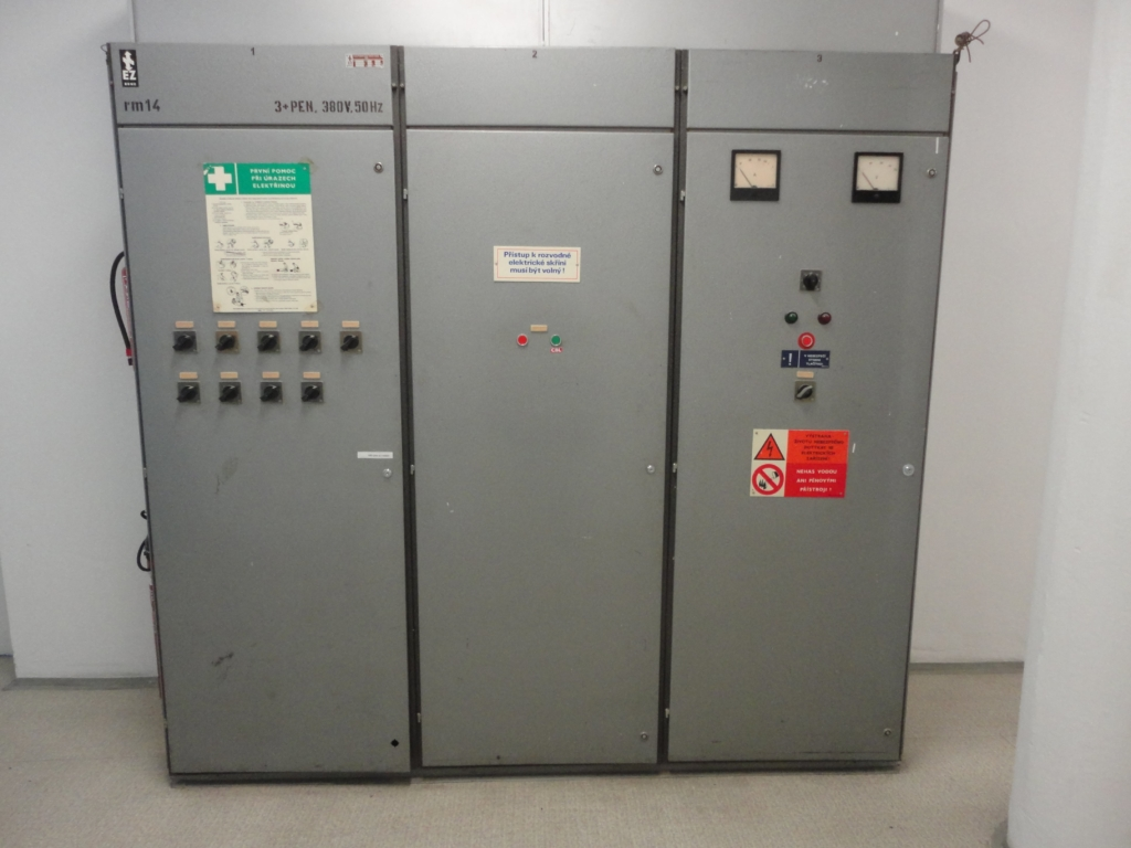 Elektrické rozvodné skříně datacentra MasterDC v Brně