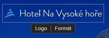 Webnode recenze změna loga