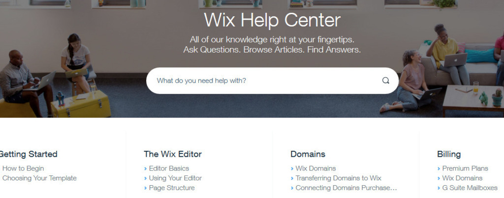 Wix recenze nápověda