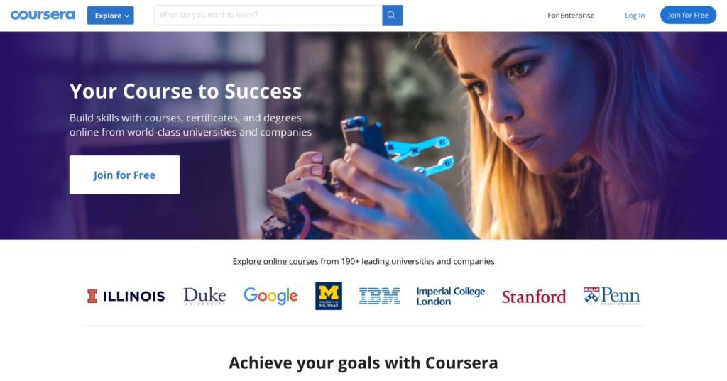 Online kurzy - Coursera.org