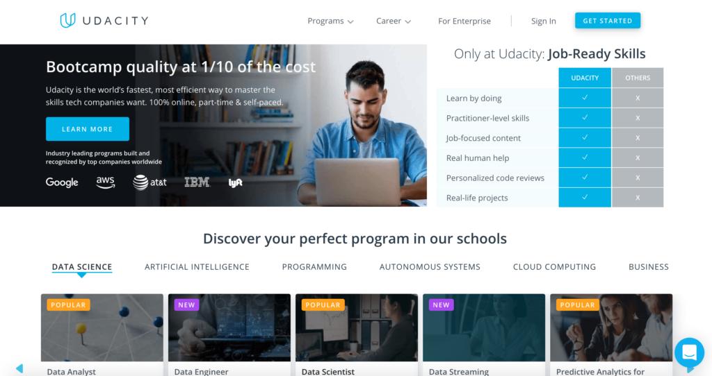 Online kurzy - Udacity.com