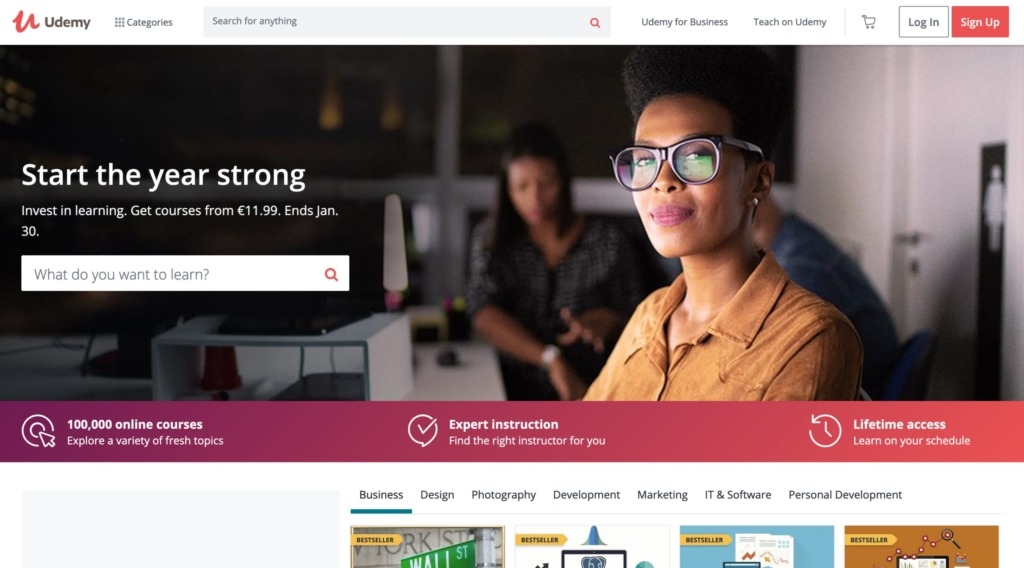 Online kurzy - Udemy.com