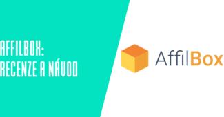 Sass aplikace Affilbox.cz recenze a návod