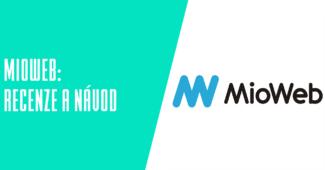 Webový editor MioWeb.cz recenze a návody
