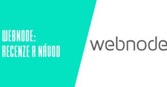 Webový editor Webnode.cz recenze a návody