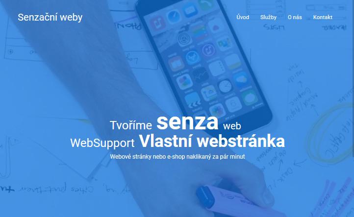 Recenze WebSupport Vlastní Webstránka - tvorba stránek finální web