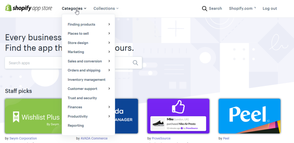 Recenze Shopify App Store