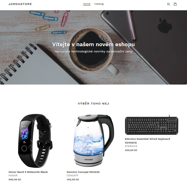 Recenze Shopify eshop