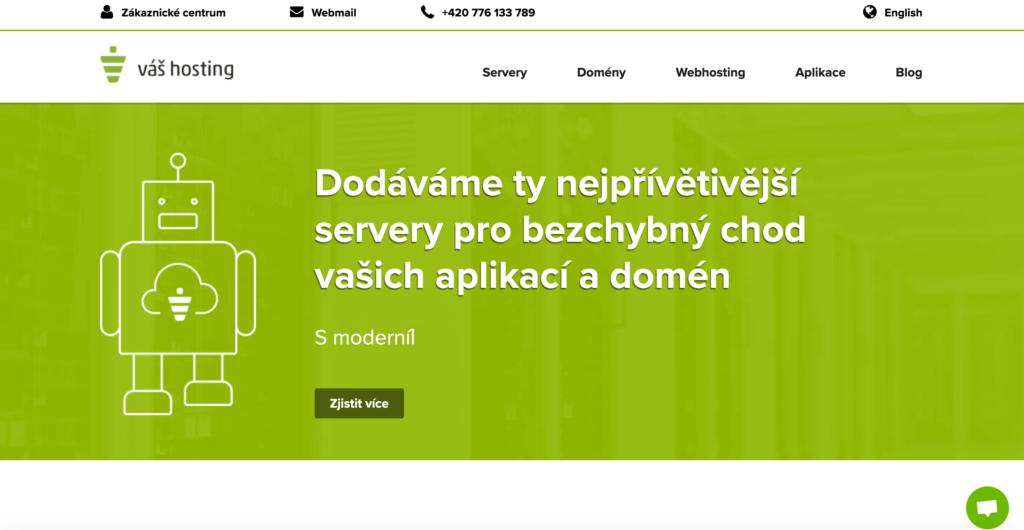 Vas-hosting.cz hosting