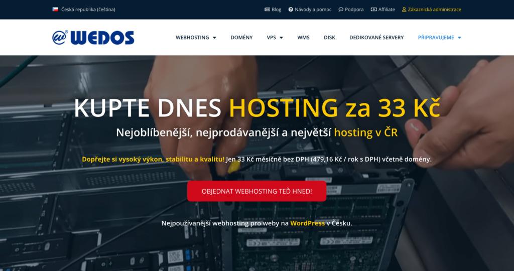 Wedos.cz hosting