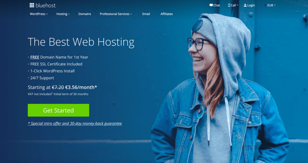 Bluehost.com hosting