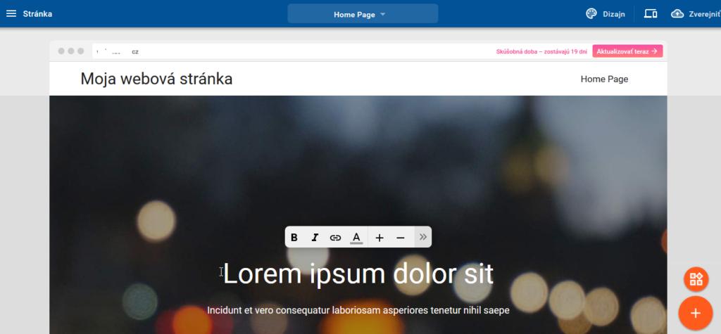 Recenze WebSupport Vlastní Webstránka - tvorba webstránek návod