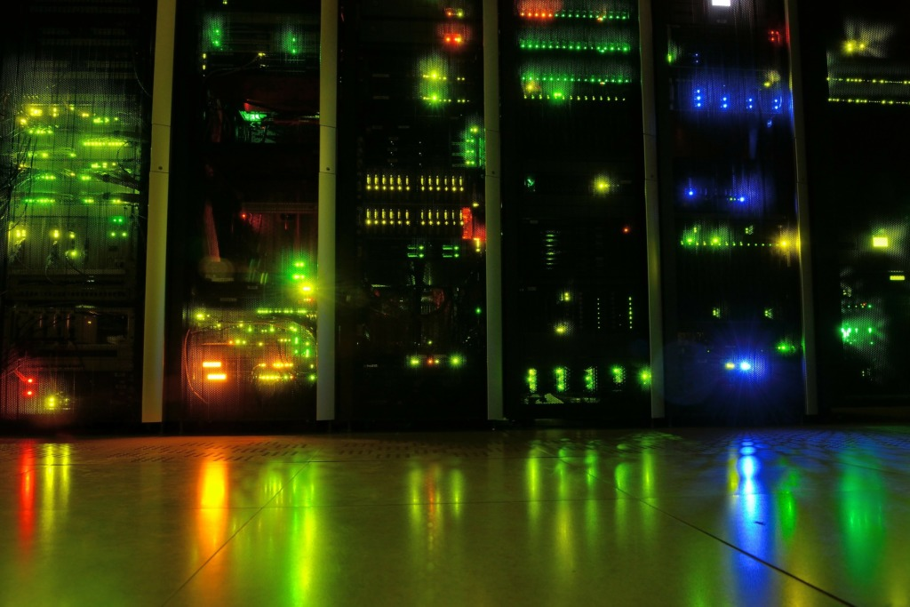 Datacentrum v plném provozu