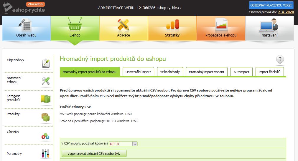 Recenze Eshop-rychle dropshipping import produktů