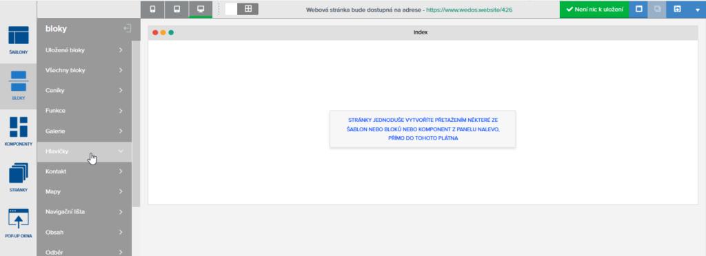 Recenze WEDOS Website tvorba webové stránky v praxi