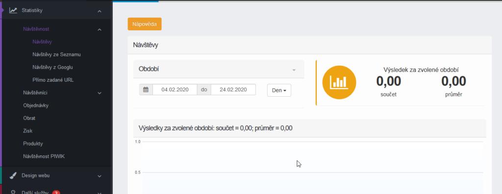 Webareal recenze statistiky eshopu