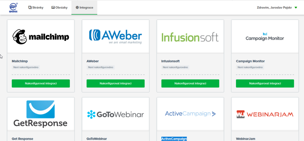 Recenze WEDOS Website integrované služby