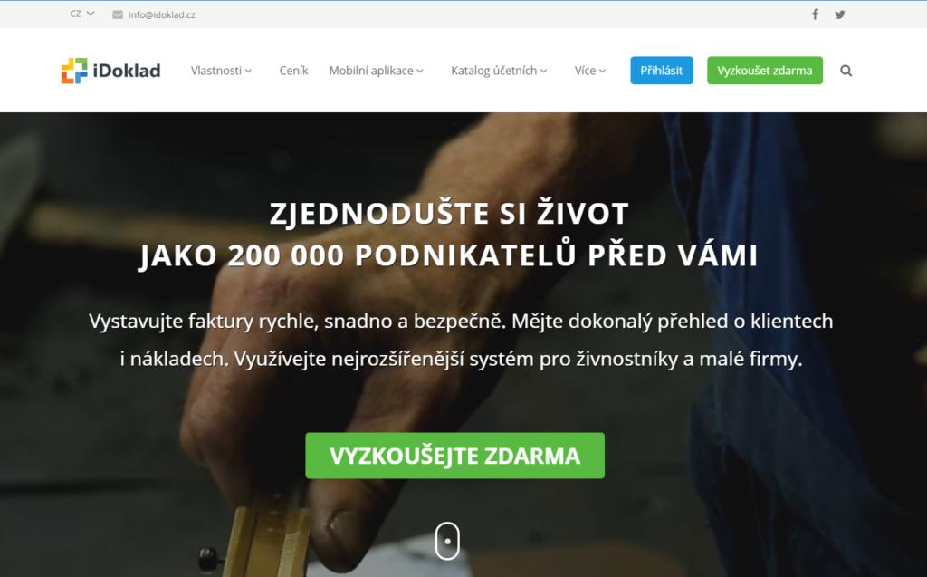 iDoklad.cz fakturační nástroj pro firmy