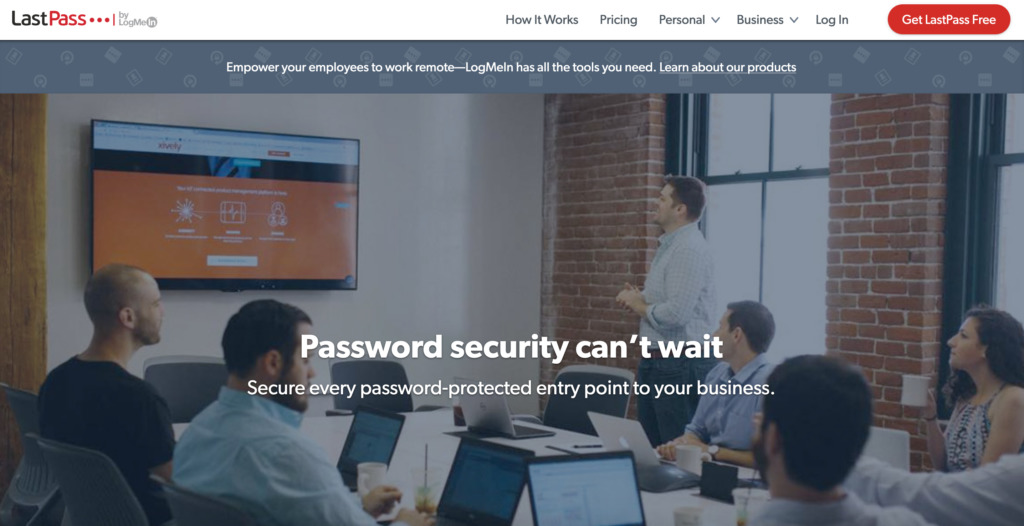 Password manager LastPass.com