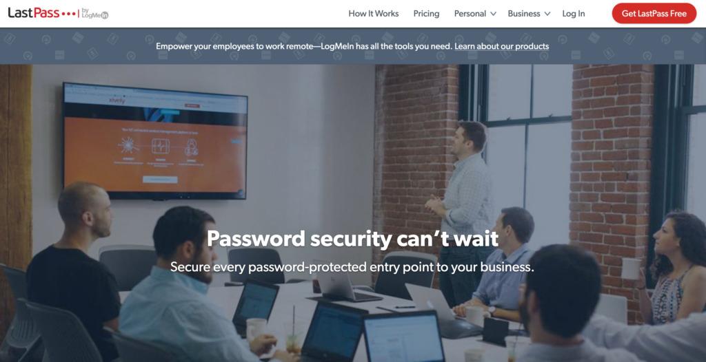 Password manager LastPass.com