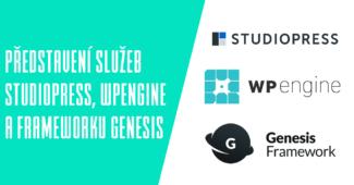 Představení služeb StudioPress, WPengine a frameworku Genesis
