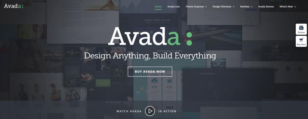 WordPress šablona Avada recenze představení