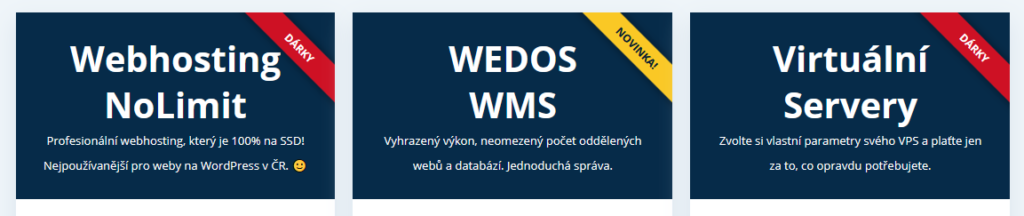 Wedos recenze služby