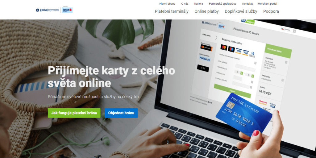 Platební brána Global Payments (GP Webpay)