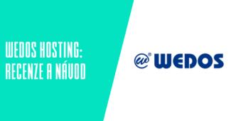 WEDOS hosting recenze a návody