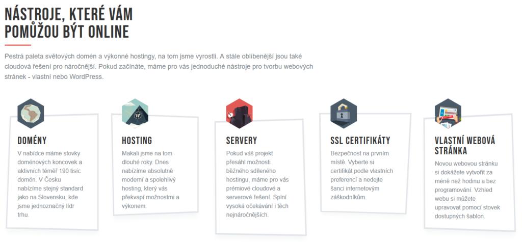 WebSupport recenze nabídka služeb