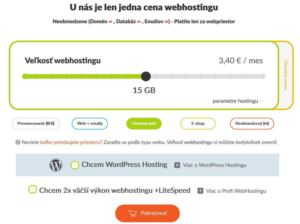 HostCreators recenze výběr webhostingu II.