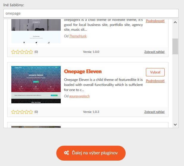 Recenze HostCreators výběr WordPress šablony