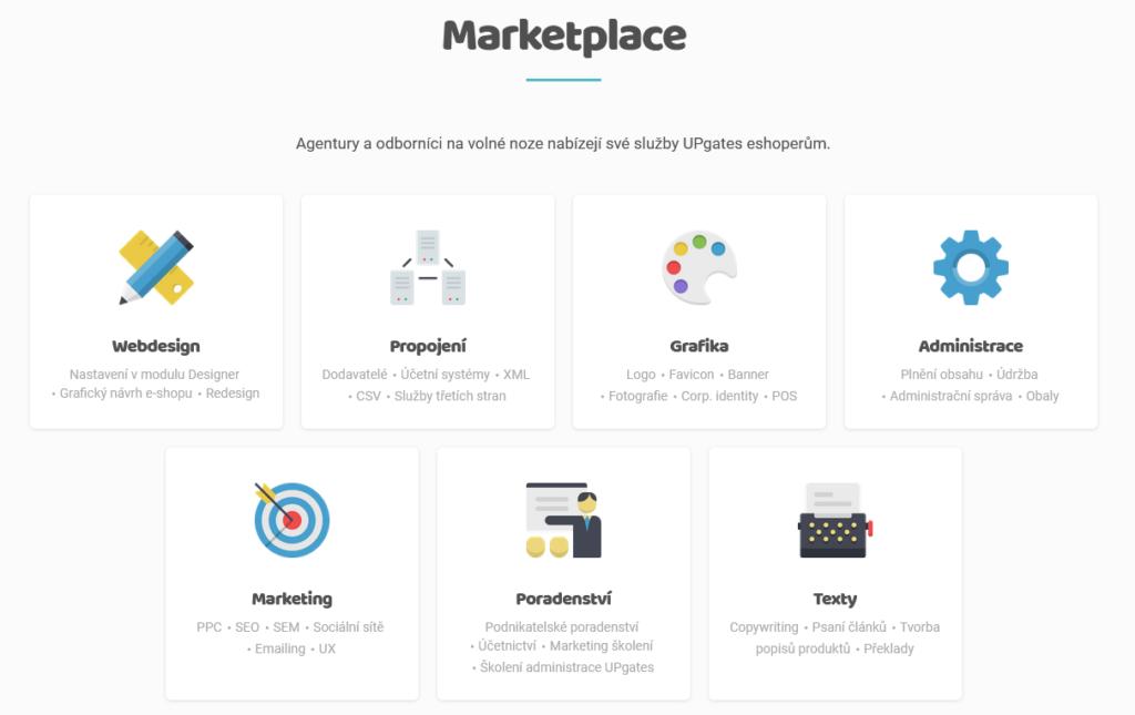 UpGates recenze marketplace