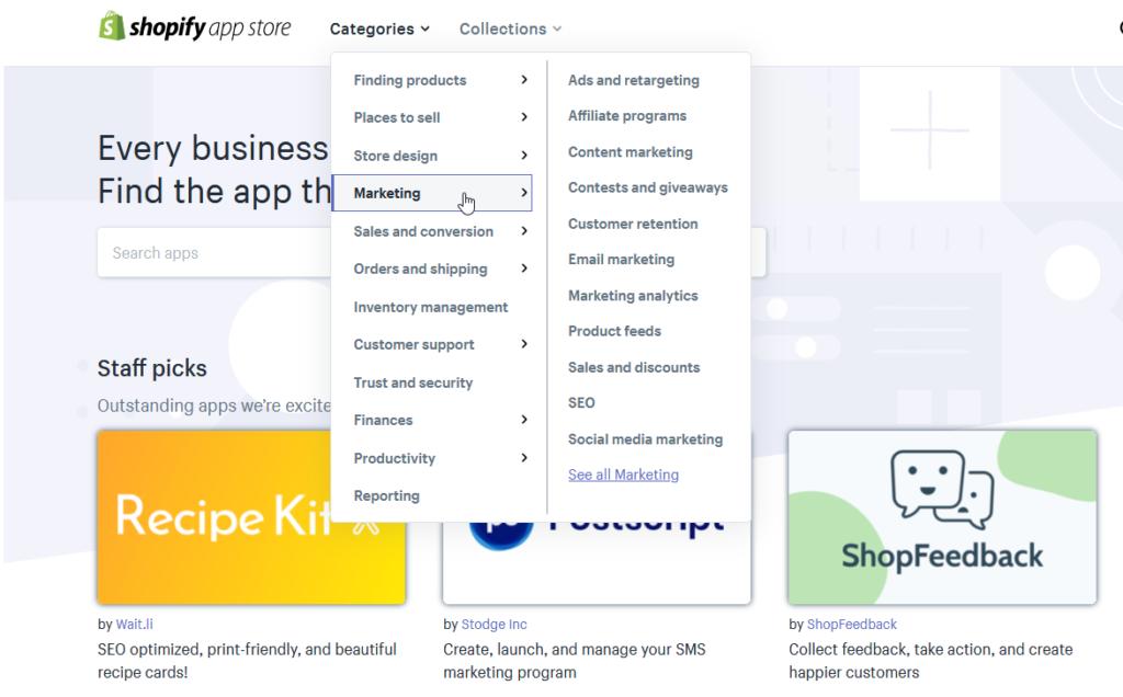 Shoptet vs. Shopify - Shopify App Store